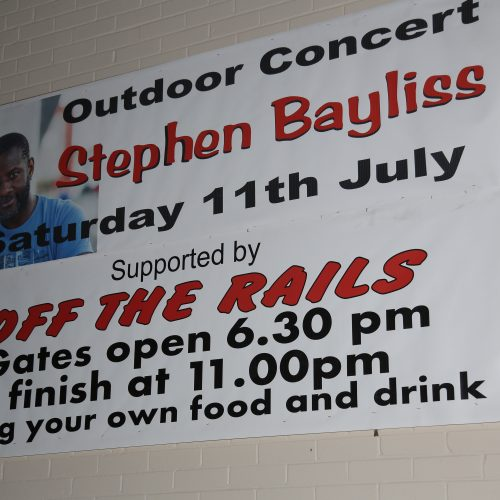Community Events are always a lot of fun! Stephen Bayliss features at the headliner every year at this fantastic open air summer party